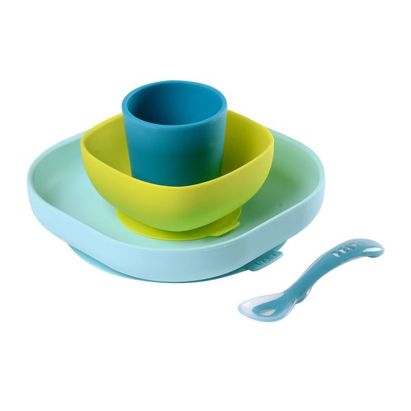 beaba silicone suction meal set