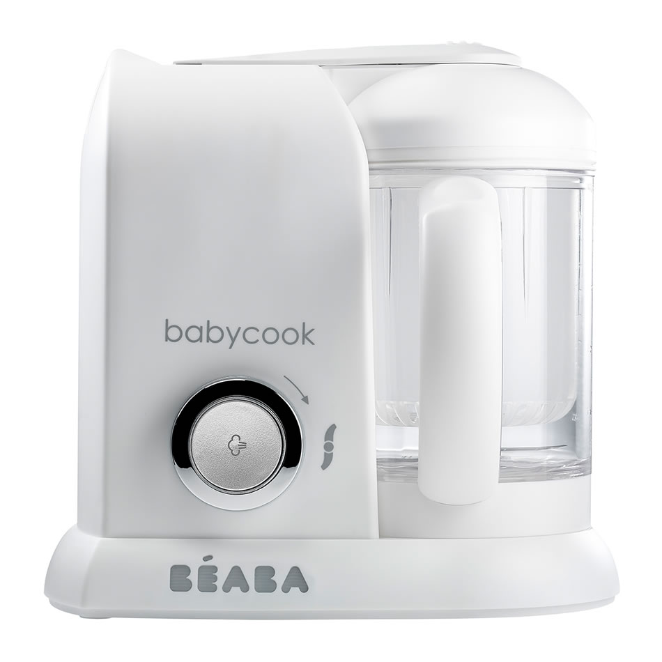 Babycook Solo White Silver Baby Food Steamer Blender