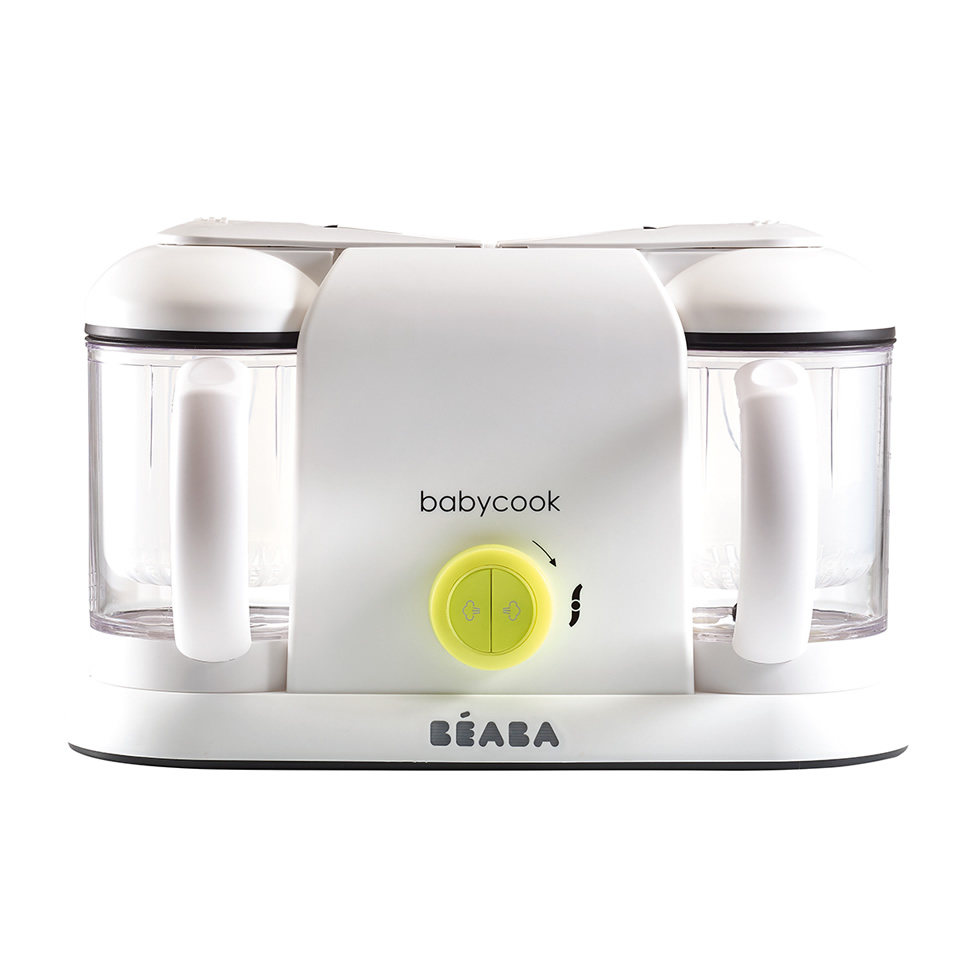 Beaba Babycook Duo Neon Baby Food Steamer Blender