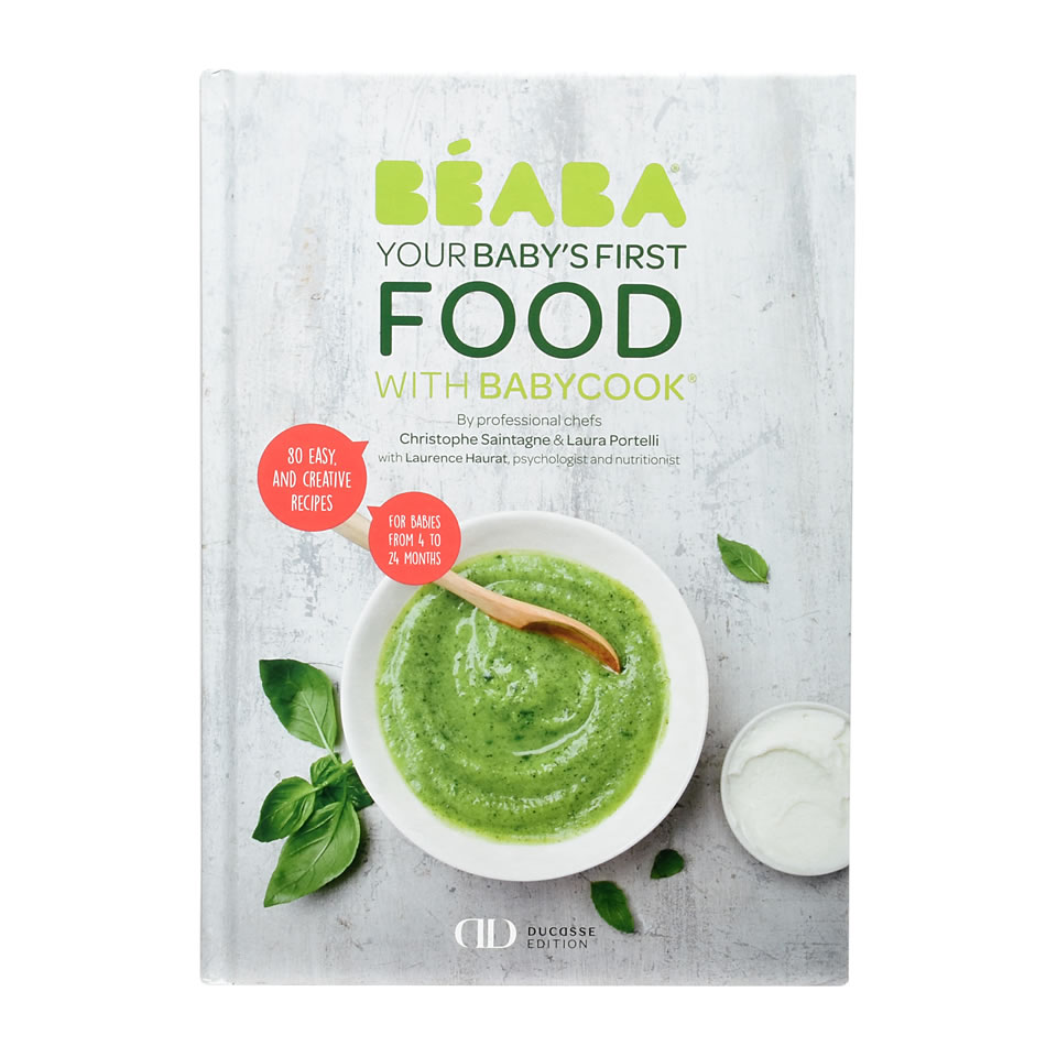 Beaba Babycook® My First Meal Baby Recipe Cookbook