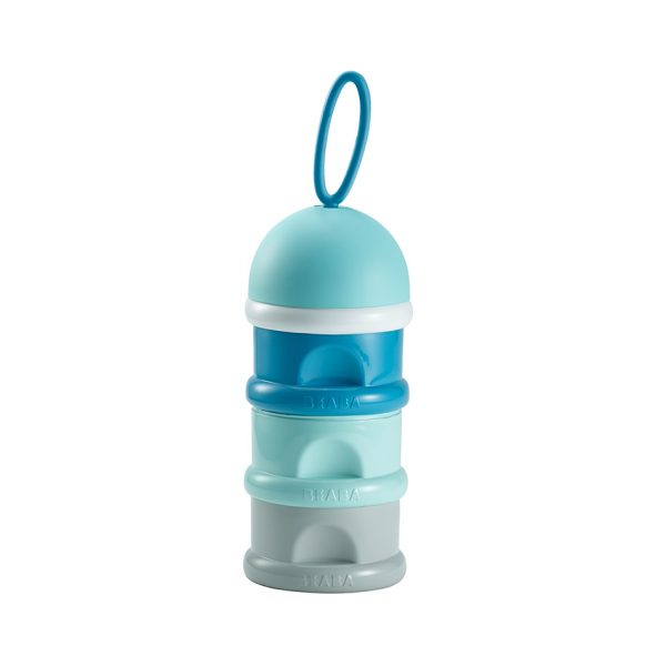 Beaba stacked formula milk storage container - blue