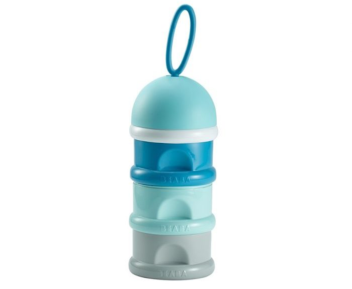 Beaba stacked formula milk storage container - blue