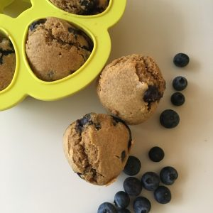 Polenta blueberry muffin 2