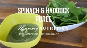 Spinach & Haddock Puree