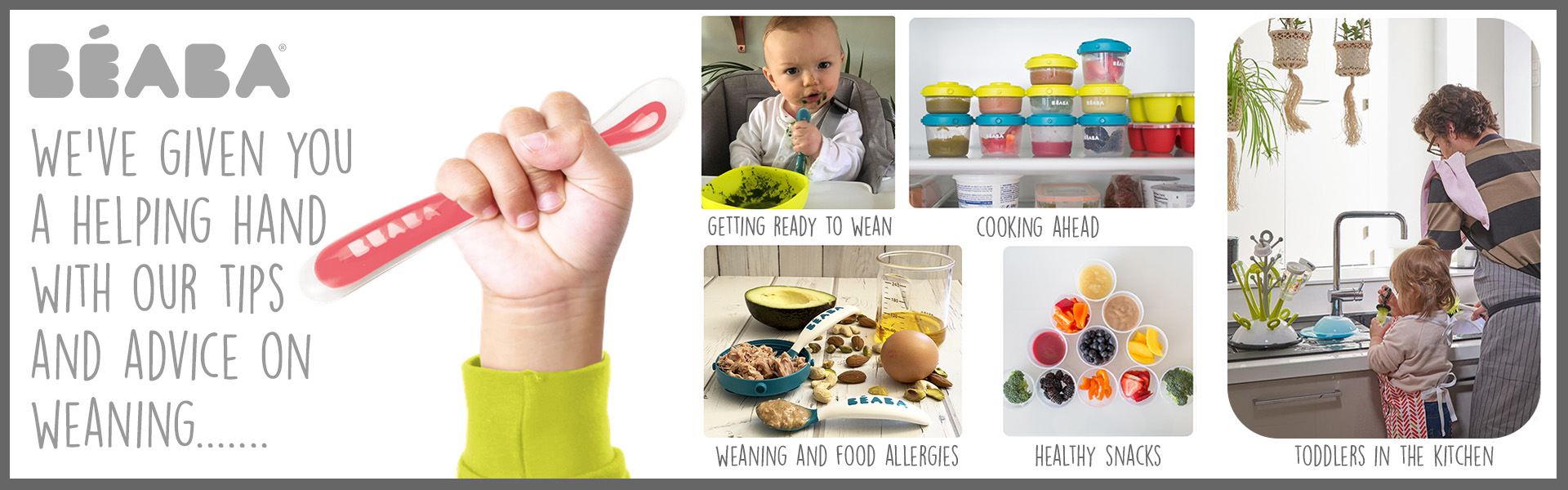 Beaba weaning tips and advice